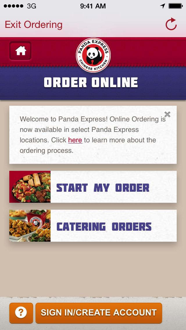 Panda Express screenshot 2