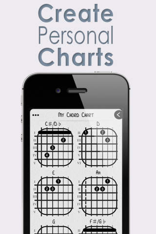 The Chord App : Guitar Chord Chart Builder For Pro - náhled