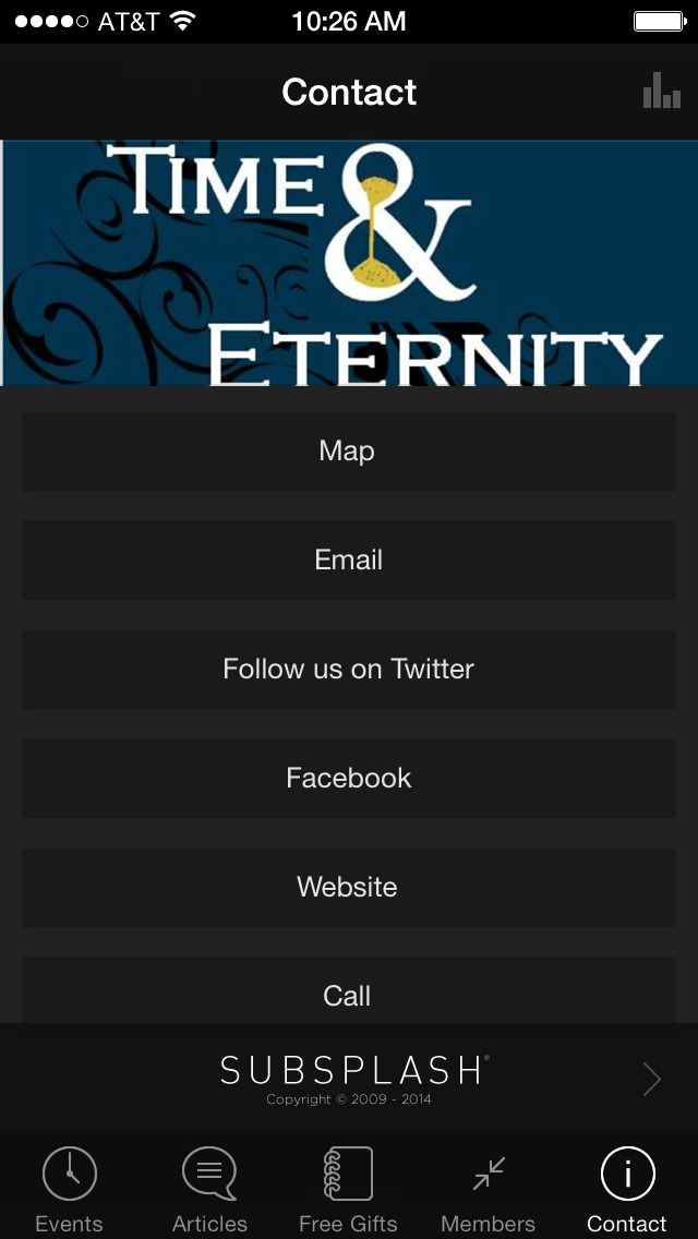 Time and Eternity App screenshot 3