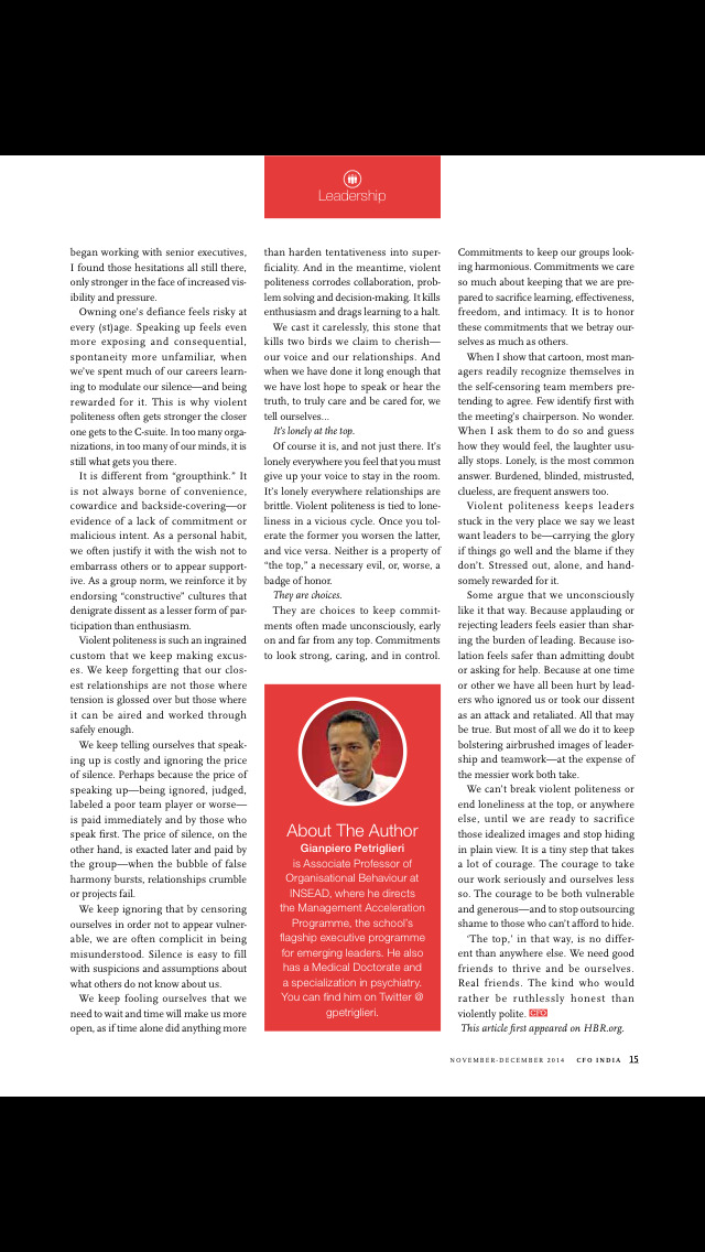 CFO Magazine screenshot 3