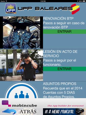 UFP BALEARES - Unión Federal de Policía screenshot 6