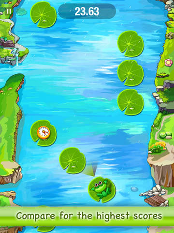 Jumping Frog Free screenshot 5