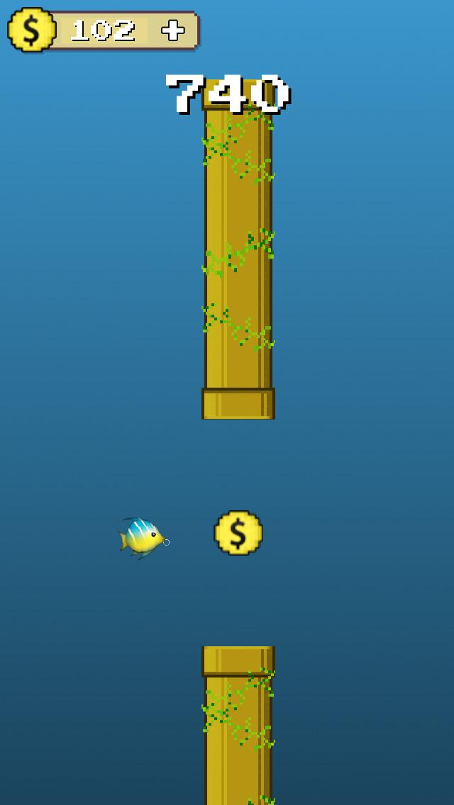 Dive Fish Hero : Go Deep screenshot 1