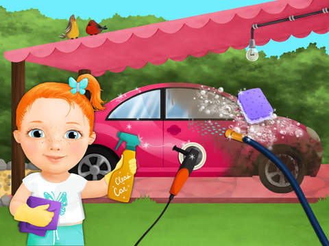 Sweet Baby Girl Clean Up 2 - My House, Garden and Garage (No Ads) screenshot 7