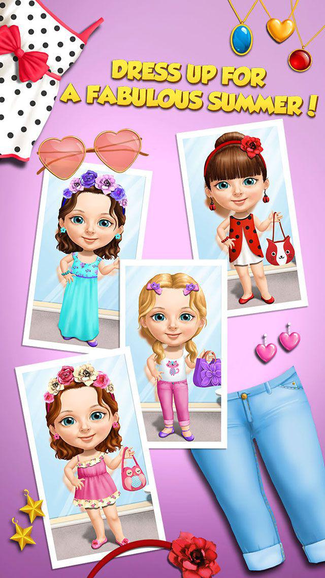 Sweet Baby Girl Summer Fun - Dream Seaside screenshot 5