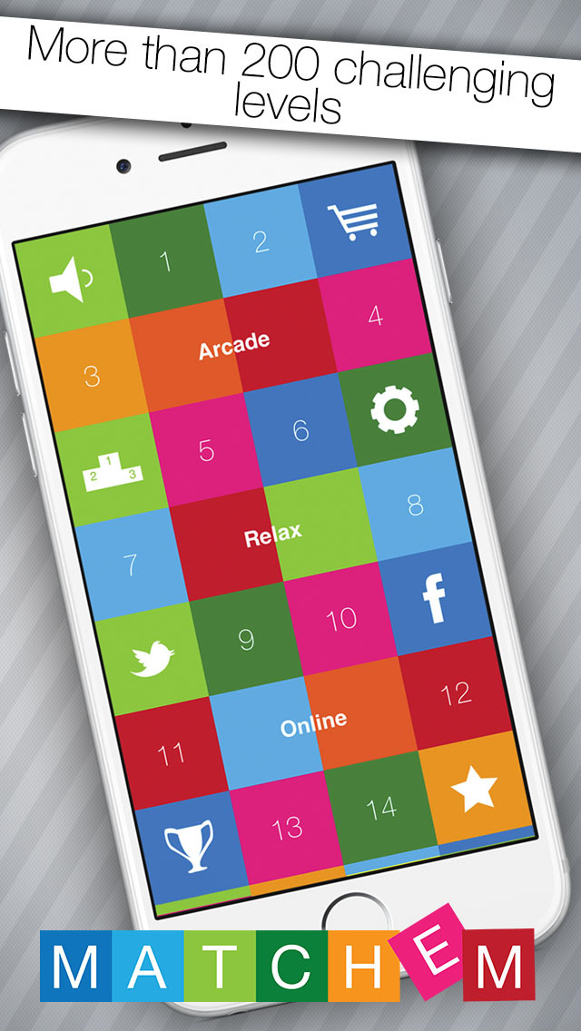 Match'em! The original and smart matching game screenshot 3