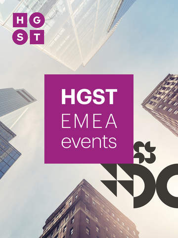 HGST EMEA Events screenshot 3