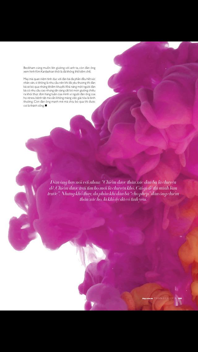 Đẹp Magazine screenshot 5