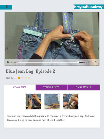 Sew Your Own Blue Jean Bag screenshot 10