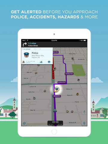 Waze Navigation & Live Traffic screenshot 6