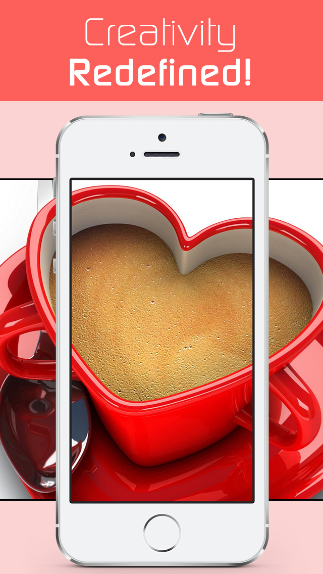 Love Wallpapers HD, Romantic Backgrounds & Valentine's Day Cards screenshot 3