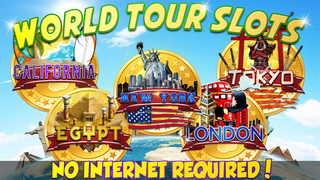 7 Okay Casino: World Tour - City Escape & Switch Adventure Slots (Sparta to USA Dreams) Free screenshot 1