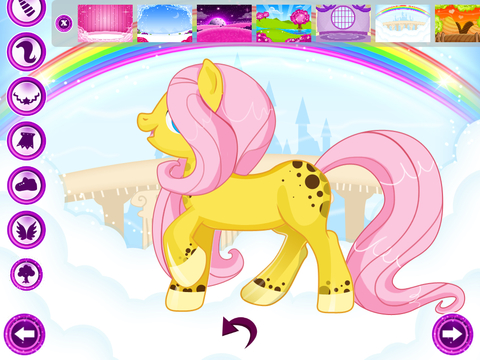 Cute Pony For Girls - Dress it up! screenshot 8