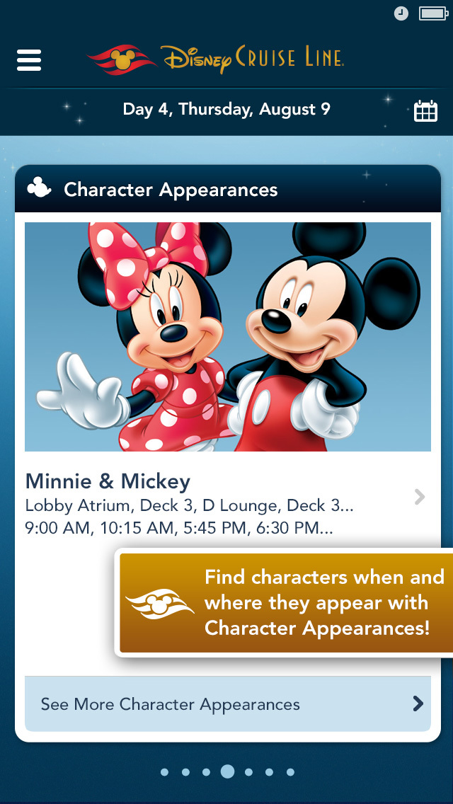 Disney Cruise Line Navigator screenshot 5