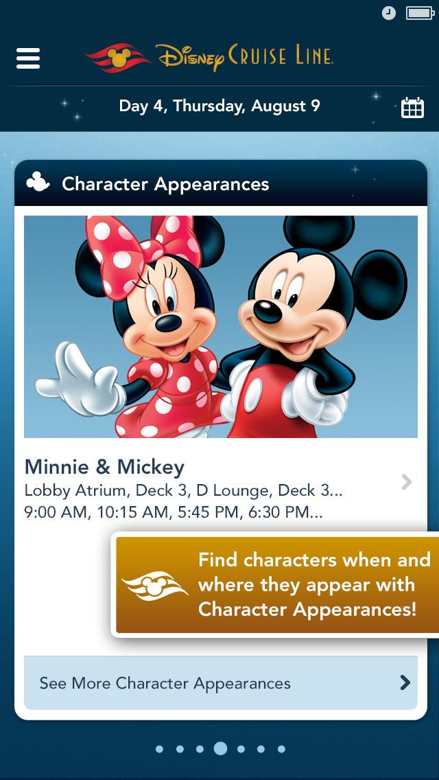 Disney Cruise Line Navigator screenshot #5