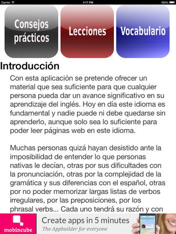 Inglés fundamental screenshot 9