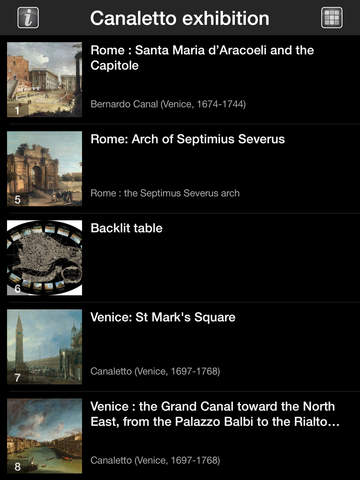 CANALETTO, Rome – London – Venice. The Triumph of Light HD screenshot 7