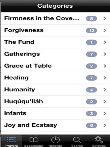 iPrayer Book - Abdu'l Baha Teachings screenshot 7