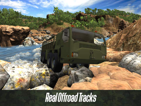 Army Truck Offroad Simulator 3D Full - Drive military truck! screenshot 7