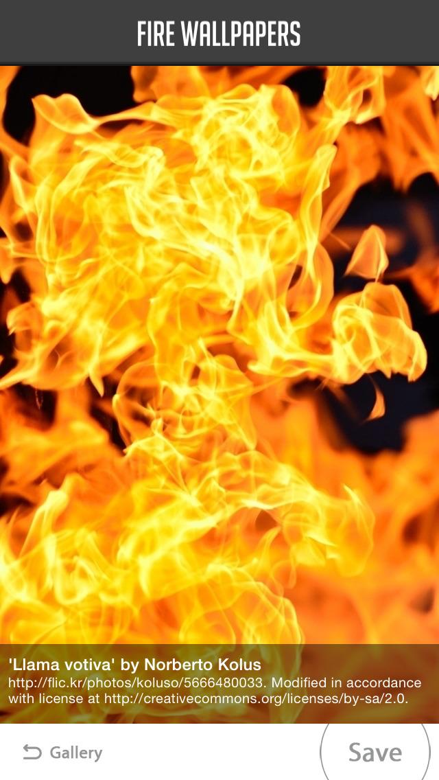 Fire Wallpaper screenshot 3