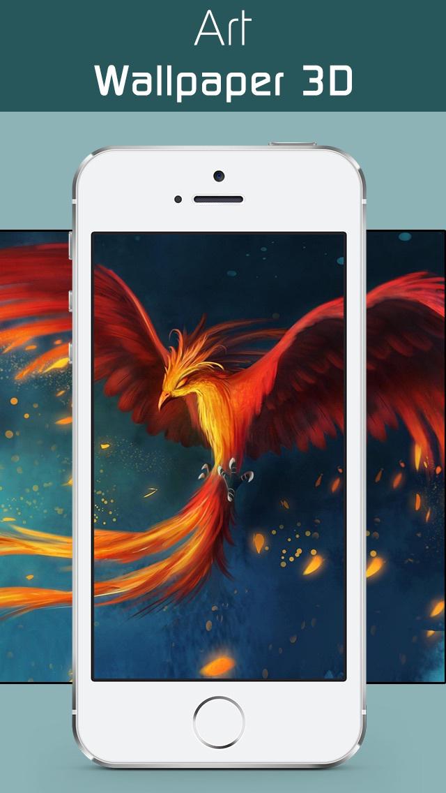 Art Wallpapers & Backgrounds 3D –Beautiful Abstract & illusion HD Lock Screen Wallpaper screenshot 1