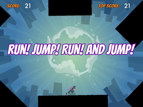 Ninja Jump & Run FREE screenshot 6