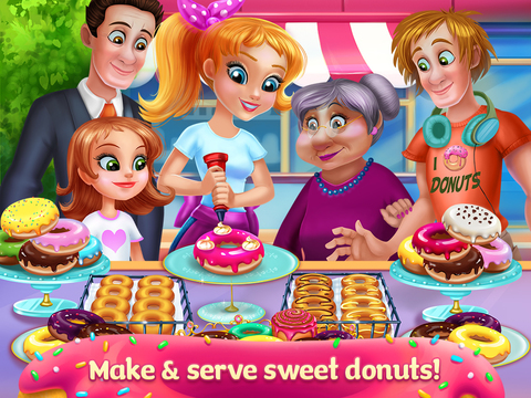 My Sweet Bakery - Delicious Donuts screenshot 6