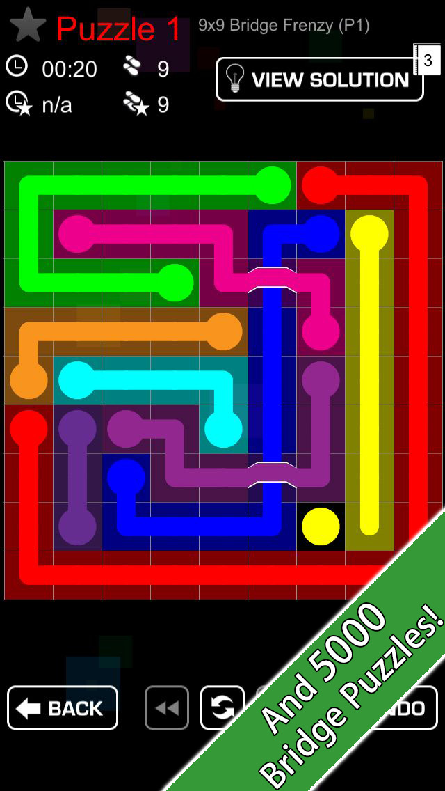Link Ultimate - 20,000 puzzles w/ Bridges & Blocks! screenshot 3