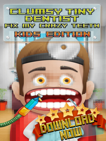 Aaah! Clumsy Tiny Dentist Fix My Crazy Teeth! - PRO Kids Edition screenshot 6