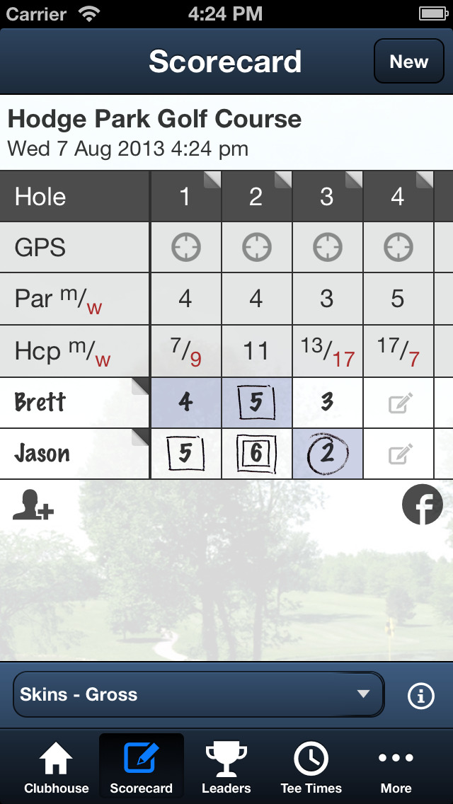 Hodge Park Golf Course screenshot 4