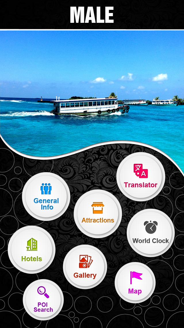 Male City Offline Travel Guide - Maldives screenshot 2