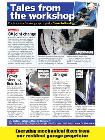 Car Mechanics Magazine screenshot 10
