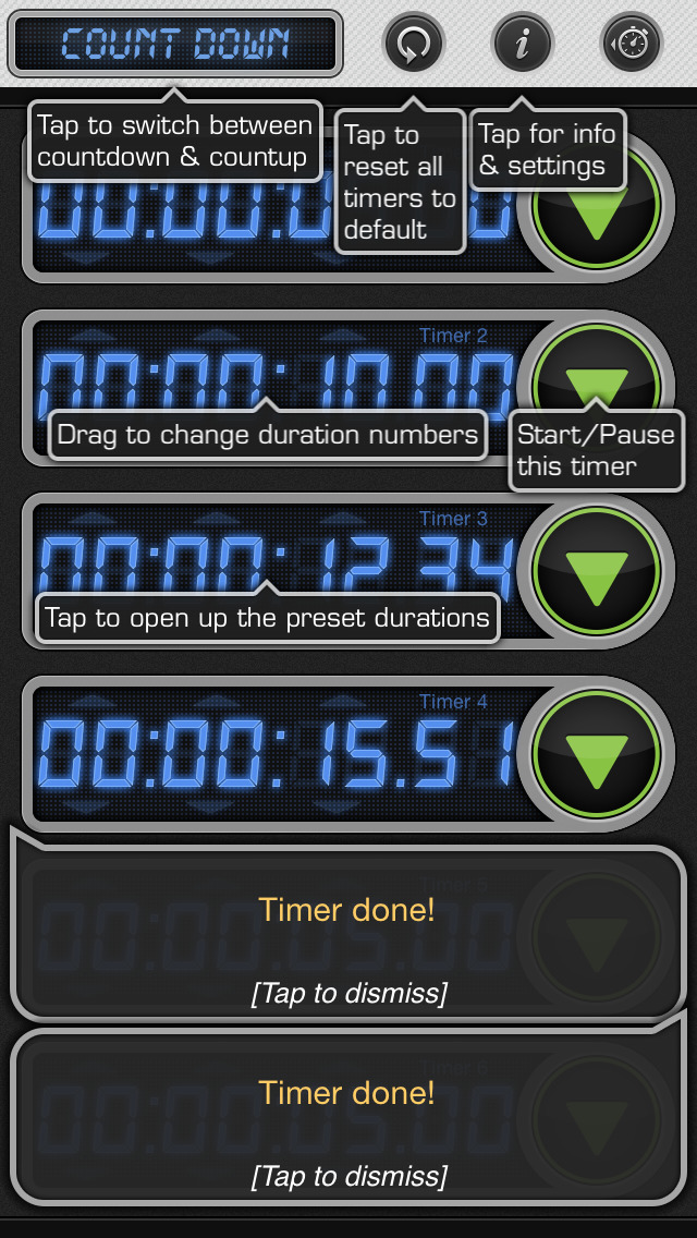 Stopwatch & Timer: Pro Multiple Count Down/Up screenshot 5