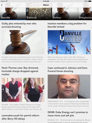 Transition: Danville Register & Bee screenshot 7