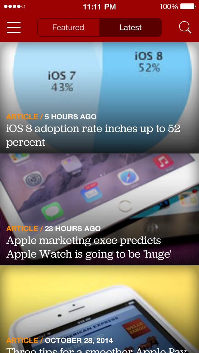 CNET: Best Tech News & Reviews screenshot 1