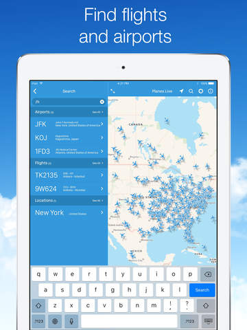 Planes Live - Flight Tracker screenshot 8