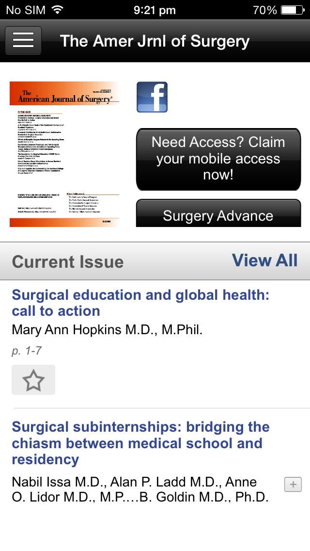 American Journal of Surgery screenshot 4
