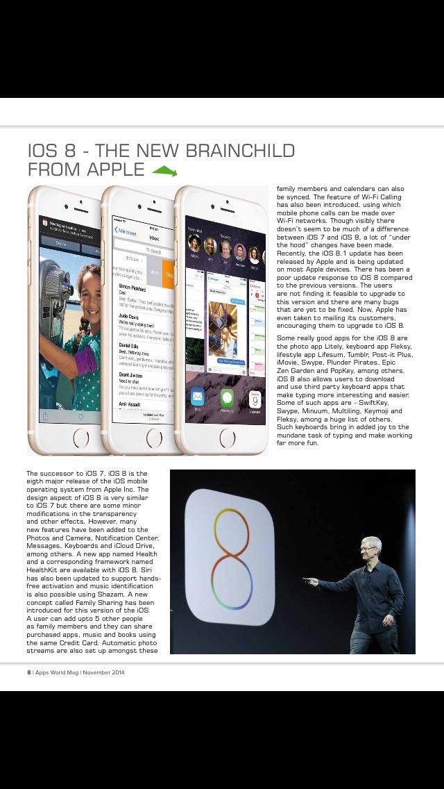 Apps World Mag screenshot 4