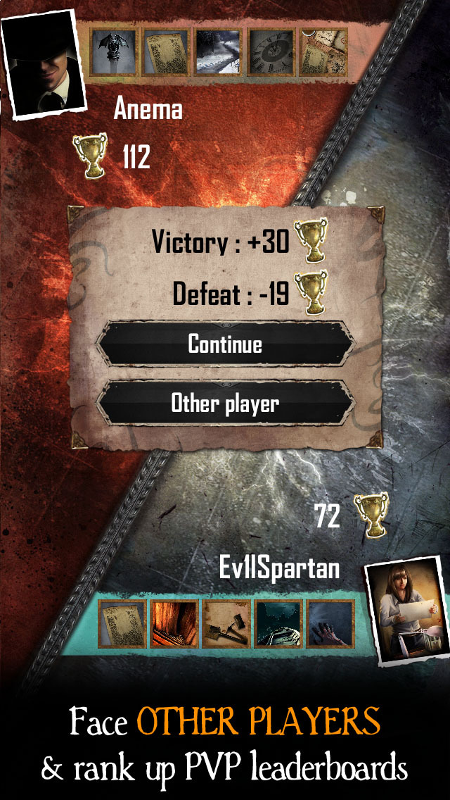 The Moaning Words - Trading Card Game in the Cthulhu Mythos screenshot 3
