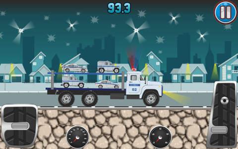 Police Car Transporter - náhled