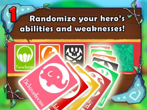 Adventure Land - Rogue Runner Game screenshot #2