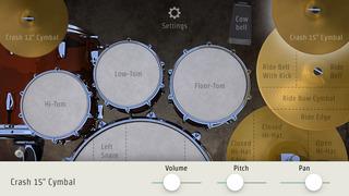 DrumKick for iPhone screenshot 4