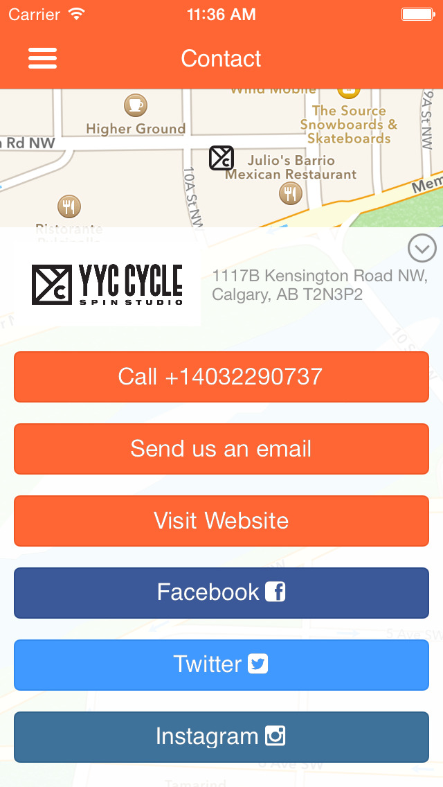 YYC CYCLE - SPIN STUDIO screenshot #5