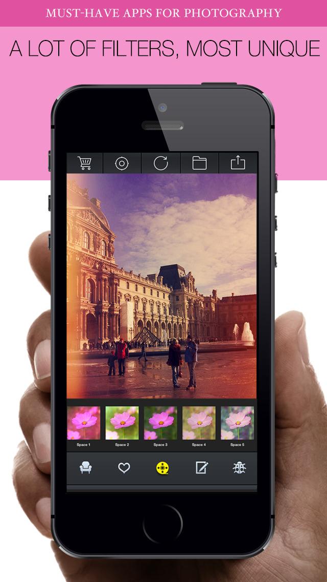 Photo 360+ Pro - Best Photo Editor and Stylish Camera Filters Effects screenshot 4