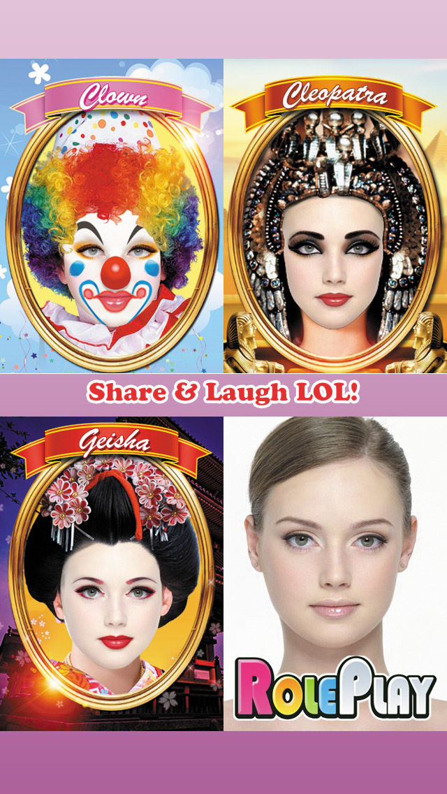 Role Play Free - Makeup Makeover Photo Booth screenshot 5
