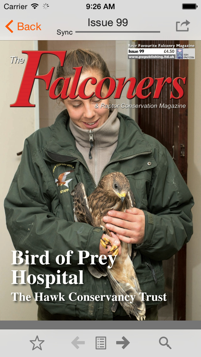 The Falconers & Raptor Conservation Magazine screenshot 1