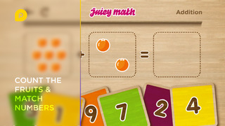 Juicy Math: addition and subtraction screenshot 3