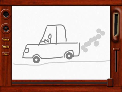 Classic Magnetic Doodle Board screenshot 4