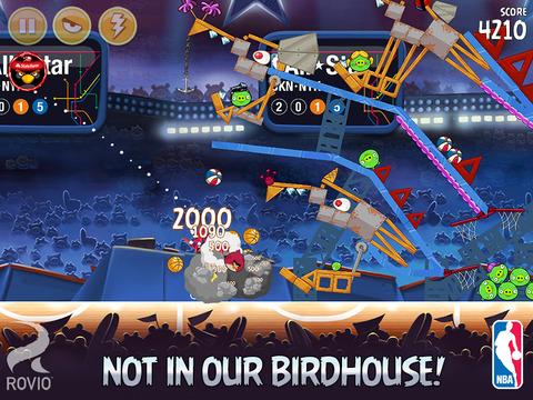 Angry Birds Seasons HD screenshot 4