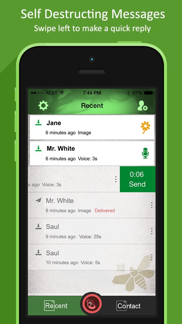 Spoken Messenger - Breaking Bad Edition screenshot 1